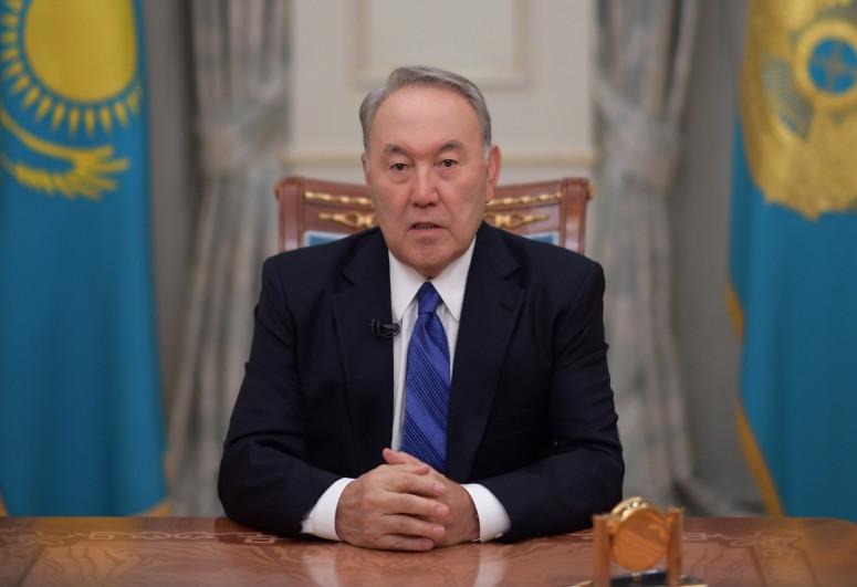 Nursultan Nazarbayev Azərbaycan Prezidentinə təbrik ünvanlayıb