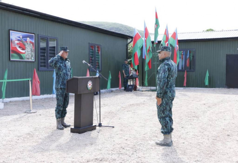 """На границе с Арменией открылась еще одна воинская часть-<span class=""""red_color"""">ФОТО"""