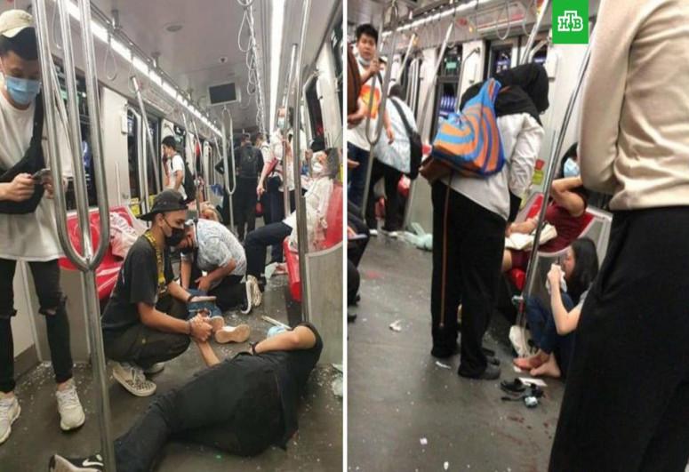 Malayziyada metroda qatarların toqquşması nəticəsində 166 nəfər yaralanıb