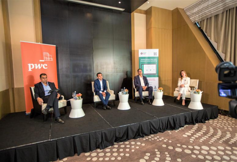 PwC Aзербайджан и Pasha Bank обсудили сегодня процессы трансформации бизнеса после пандемии