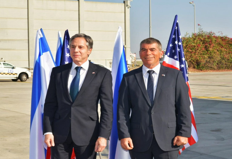 ABŞ dövlət katibi İsraildə səfərdədir
