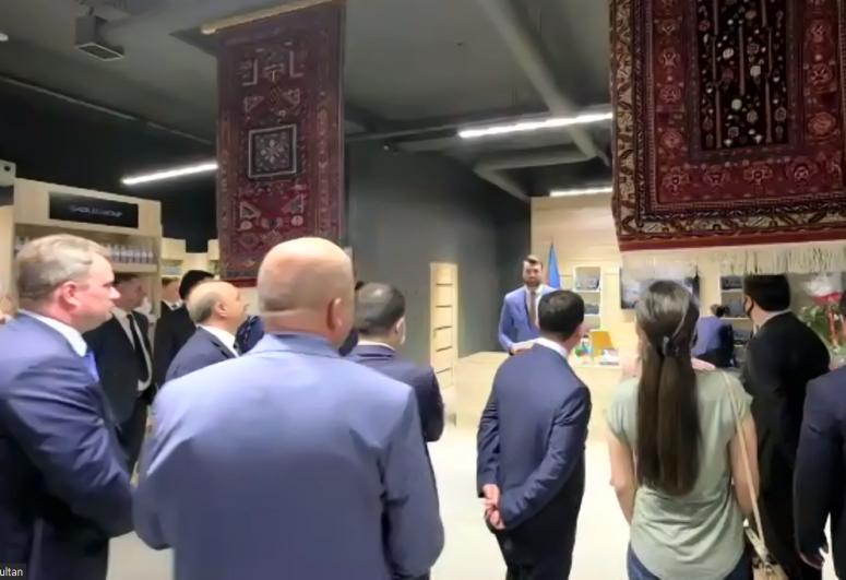Azerbaijan's trade house opened in Kazakhstan