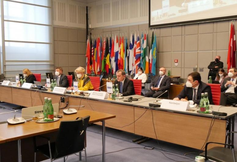Джейхун Байрамов выступил на специальном заседании Постоянного совета ОБСЕ