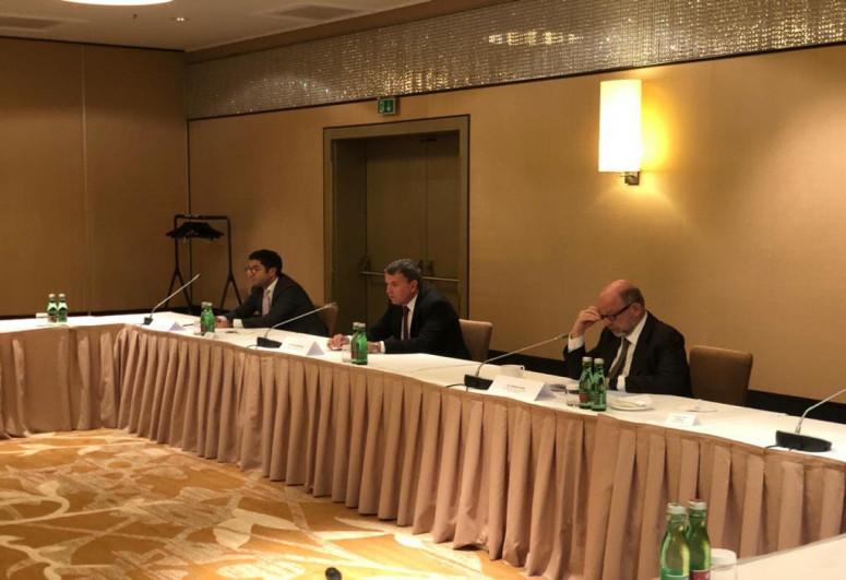 Джейхун Байрамов встретился с представителями Совета сотрудничества Австрия-Азербайджан