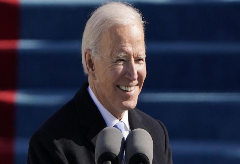 Biden defends decision not to sanction company building Russian gas pipeline