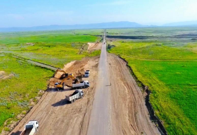 Bərdə-Ağdam avtomobil yolunun tikintisinə başlanılıb