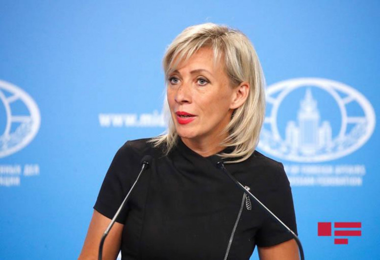 """Zakharova: Incidents on the Azerbaijani-Armenian border have nothing to do with the Nagorno-Karabakh conflict directly -<span class=""""red_color"""">UPDATED"""