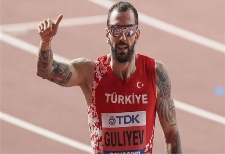 Türkiyəli atlet Ramil Quliyevin rekordunu geridə qoyub