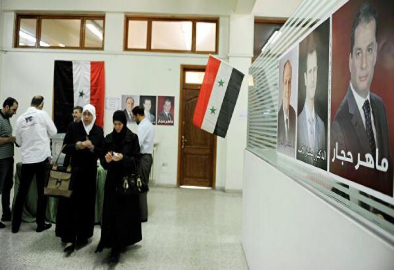 Suriyada prezident seçkiləri başa çatıb