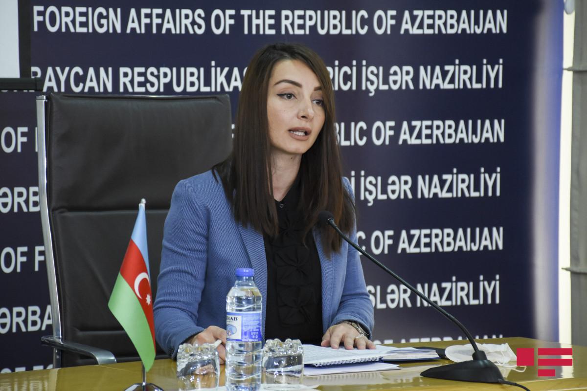 """Leyla Abdullayeva: """"Ermənistanın Kəlbəcər istiqamətindəki təxribatı üçtərəfli bəyanatın pozulmasıdır"""""""