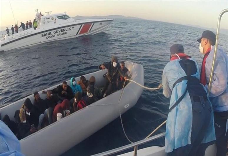 Turkey rescues 21 migrants pushed back by Greece in Aegean Sea