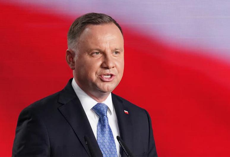 Президент Польши Анджей Дуда поздравил президента Азербайджана