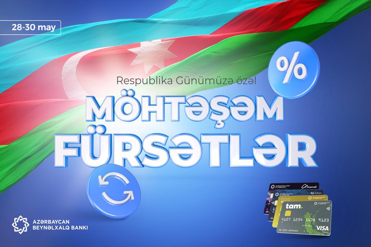 Azərbaycan Beynəlxalq Bankı Respublika Günü ilə əlaqədar kampaniya keçirir
