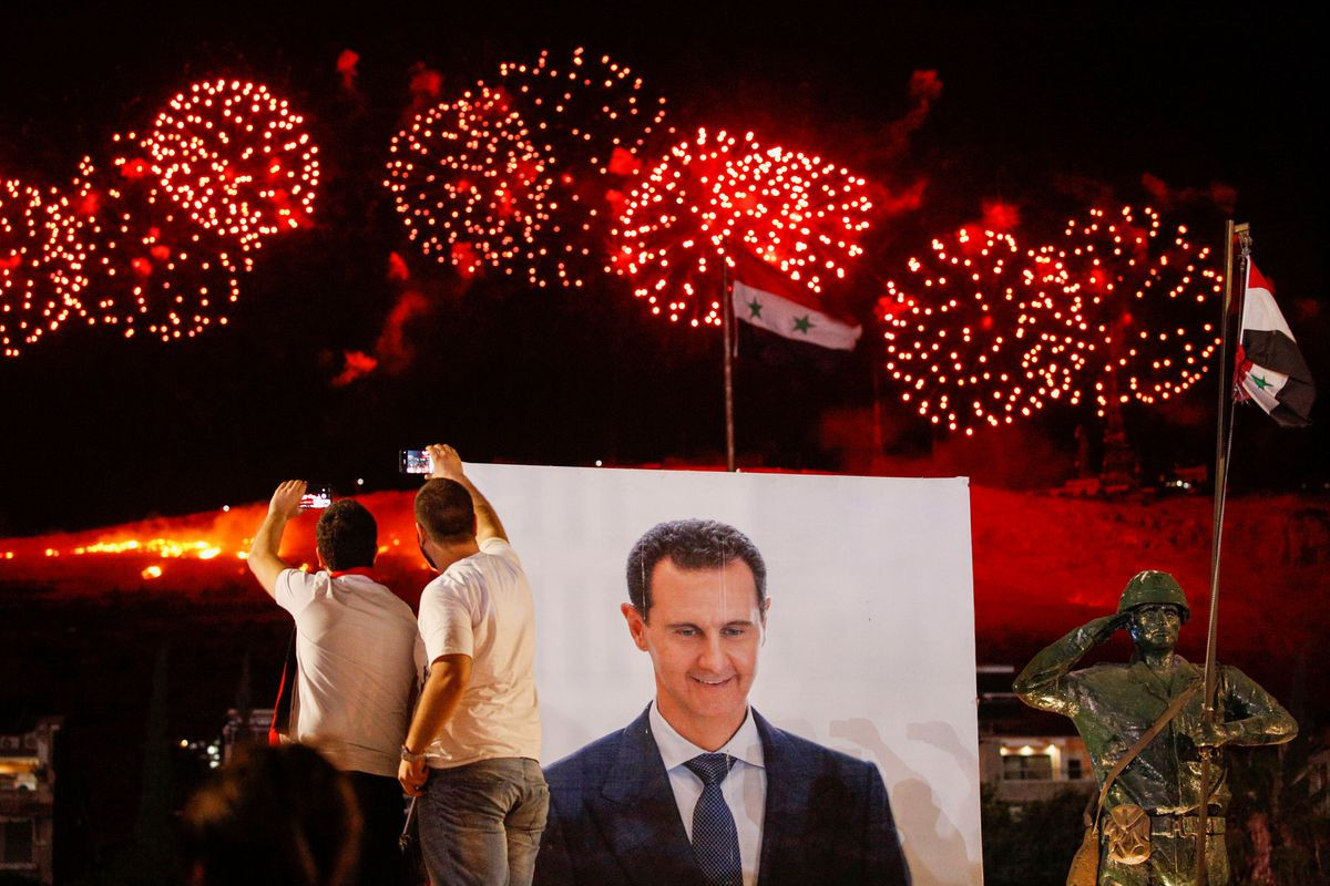 Syria's Assad wins fourth term in office with 95.1% of votes