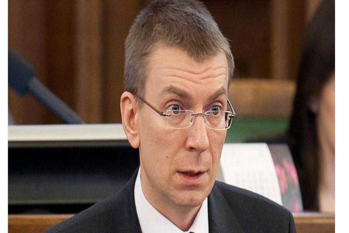Глава МИД Латвии поздравил Азербайджан