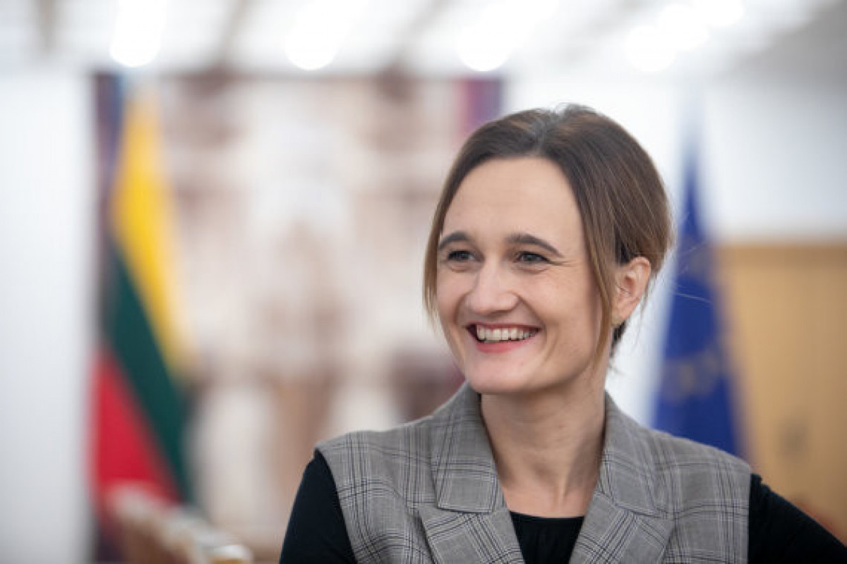 Speaker of the Lithuanian Seimas congratulates Azerbaijani People on Republic Day