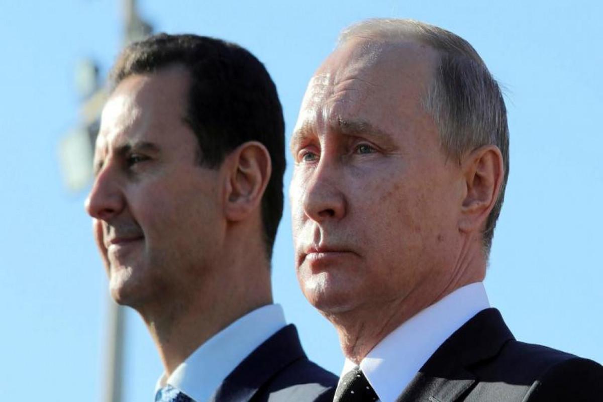 Putin congratulates Bashar al-Assad on his victory at Syria's presidential elections