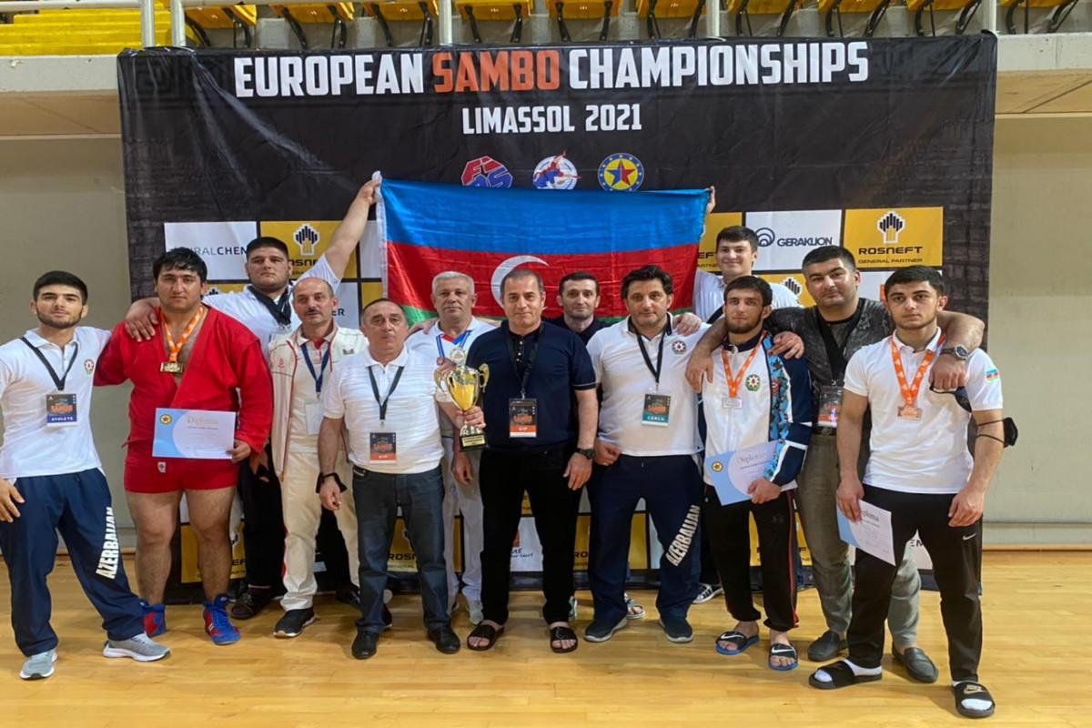İdmançılarımız sambo üzrə Avropa çempionatında qalib olub