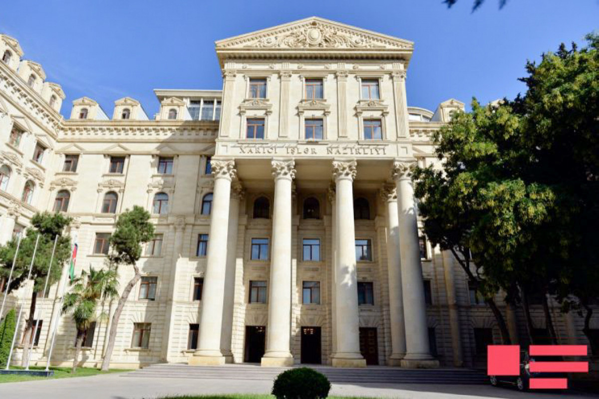 Azerbaijani Foreign Ministry: Namely Armenia bears responsibility for the escalation occurred in region