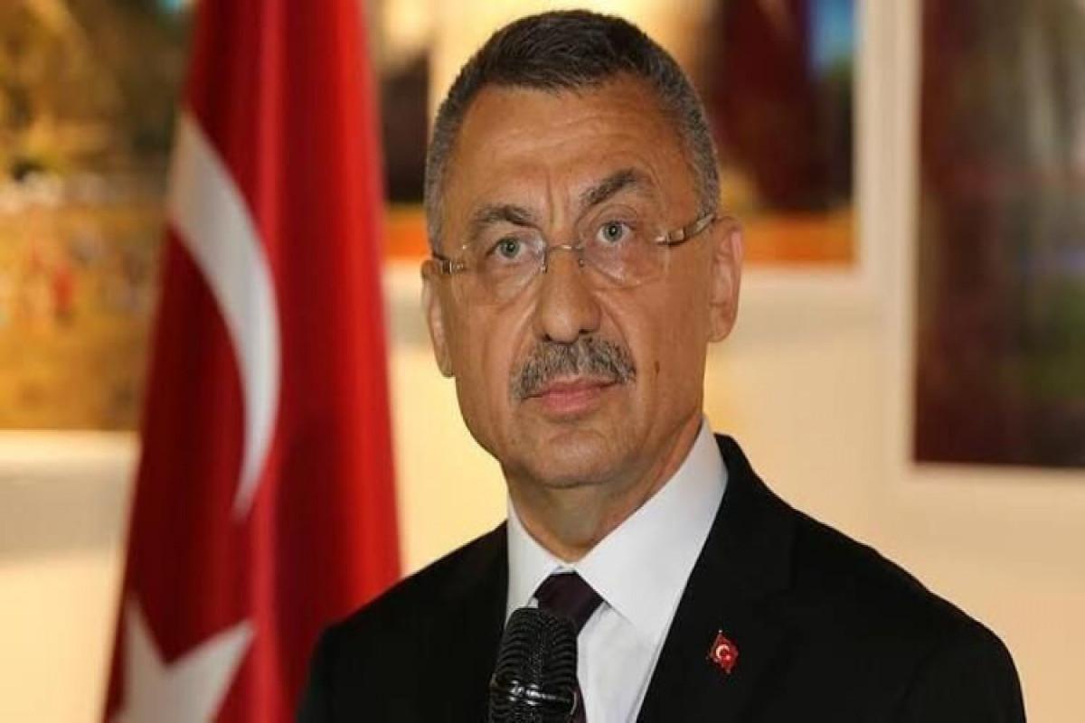 Fuat Oktay congratulates Azerbaijan on the occasion of Republic Day