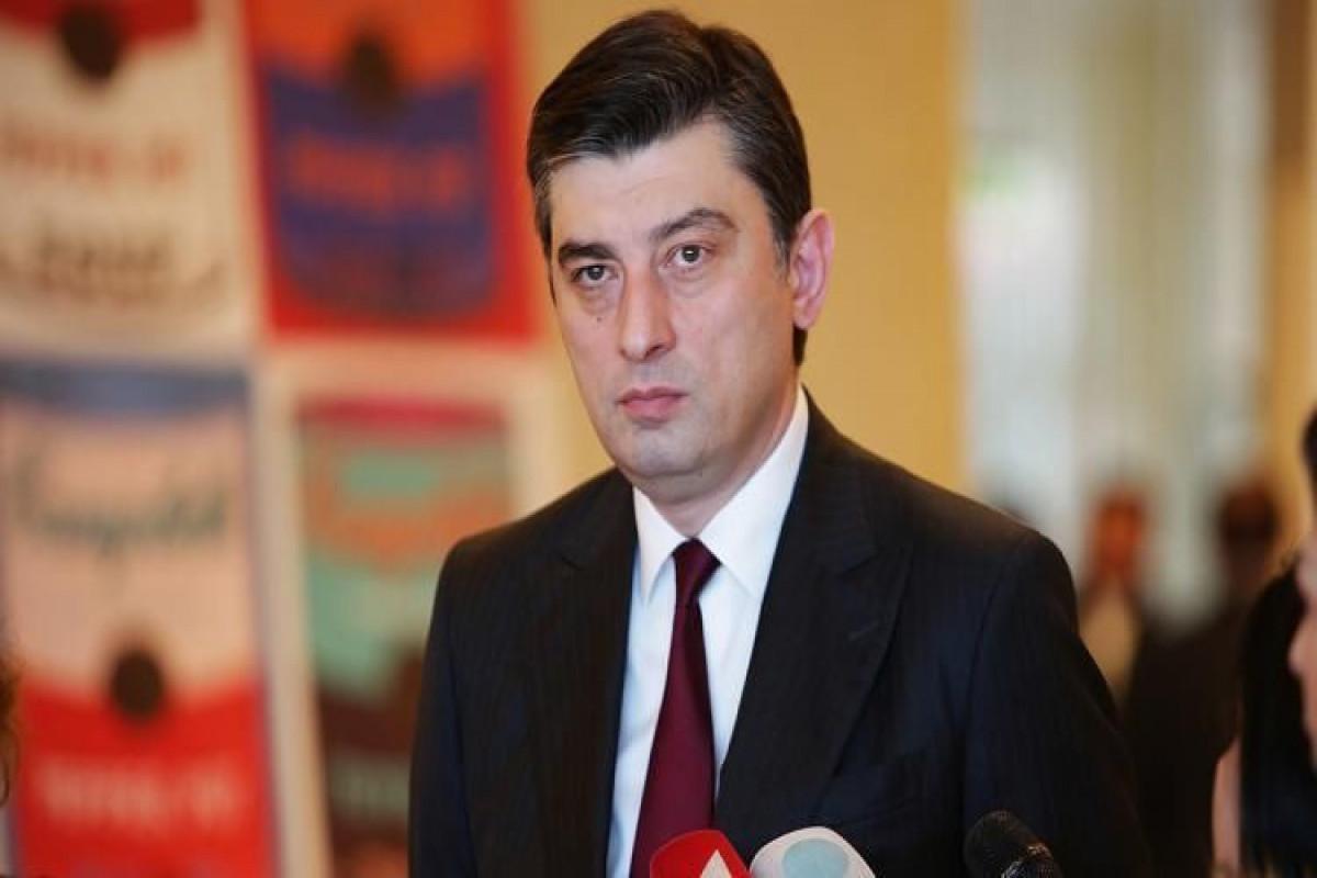 Giorgi Qaxarianın təsis etdiyi siyasi partiyanın adı açıqlanıb