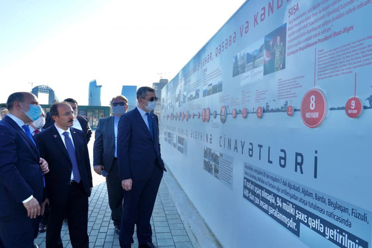 Turkish Education Minister visits Military Trophies Park in Baku