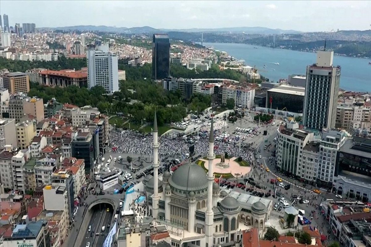 Mosque complex inaugurated in Taksim square of Istanbul