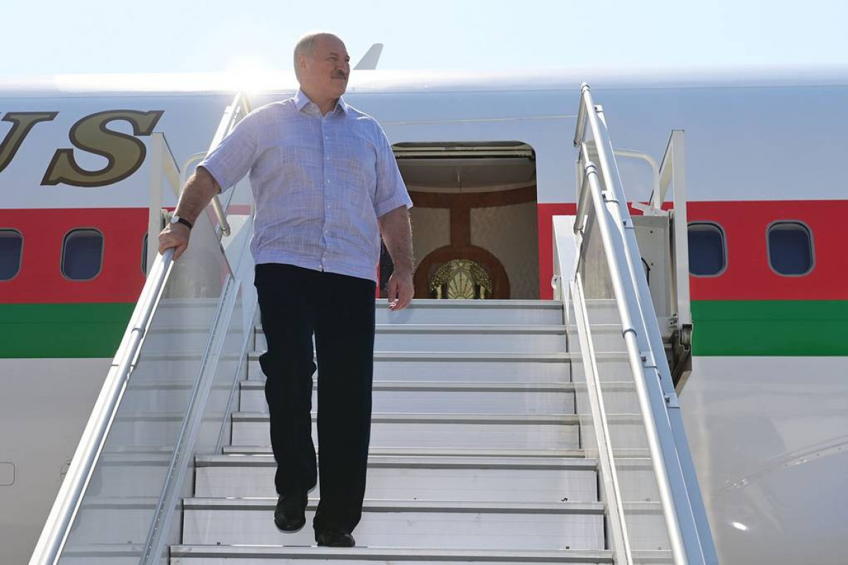 Belarusian president visits Sochi for talks with Russian counterpart