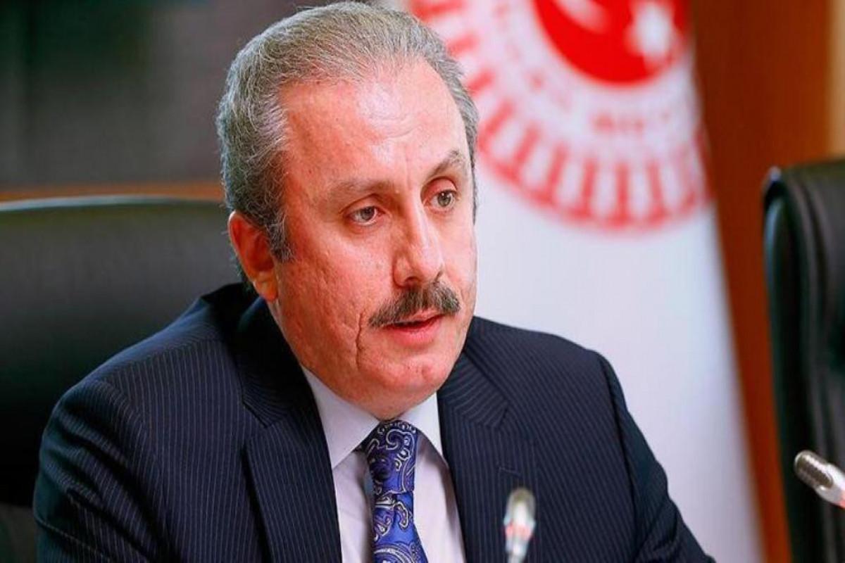 Mustafa Shentop sent a congratulatory letter to the Speaker of the Azerbaijani Parliament