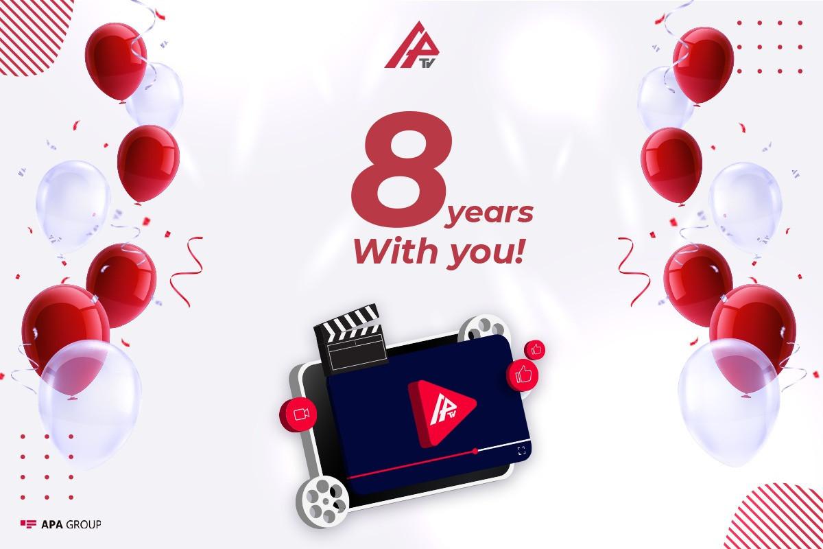 8 years pass since establishment of APA TV