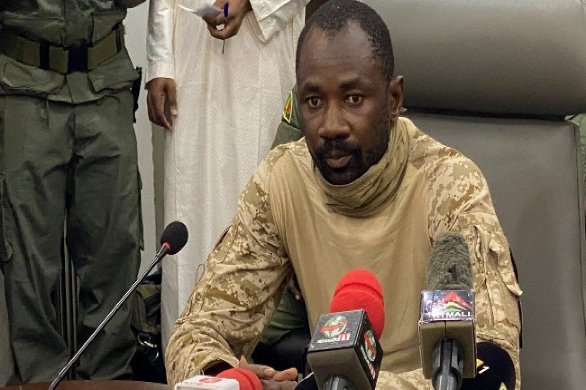Mali Constitutional Court declares Colonel Goita Transitional President