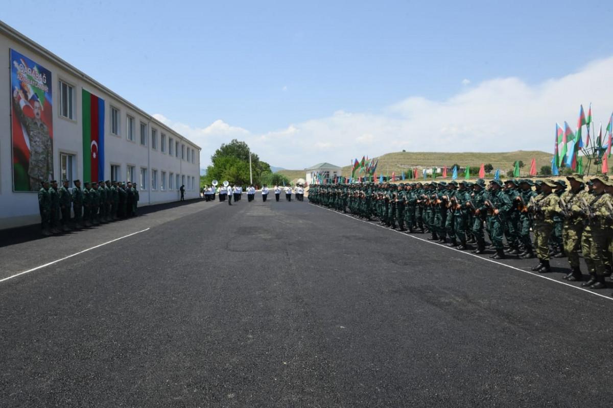 В Зангилане приступила к деятельности новая воинская часть ГПС