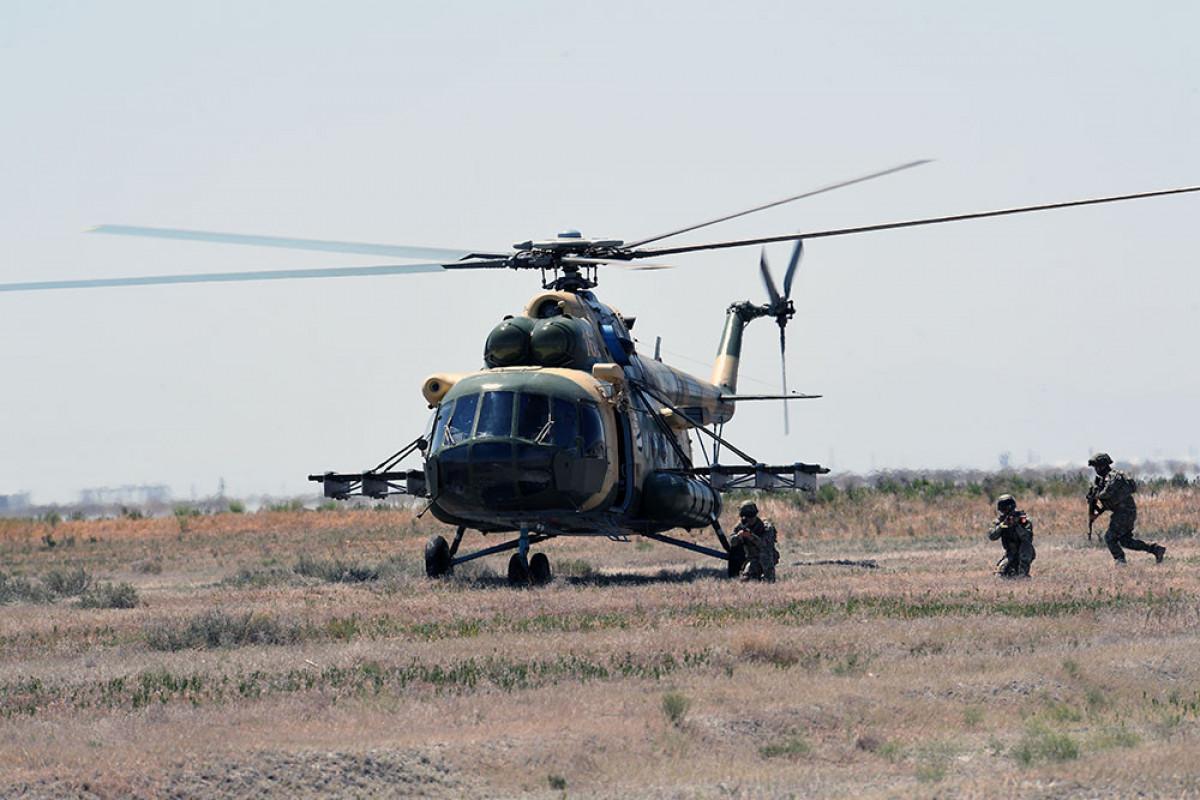 "Azerbaijan Army's servicemen actively participate in the ""Anatolian Phoenix-2021"" Exercises"