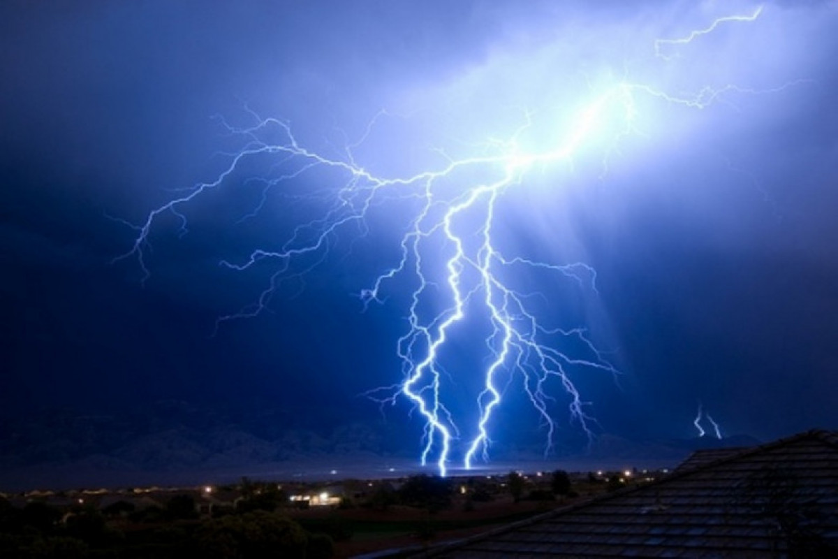 Man killed by lightning in Azerbaijan