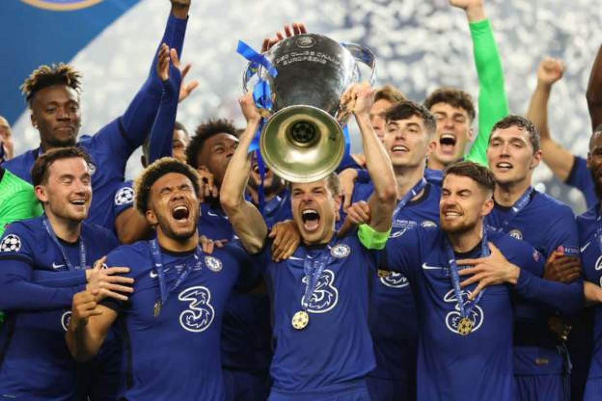 Chelsea won the Champions League for the second time