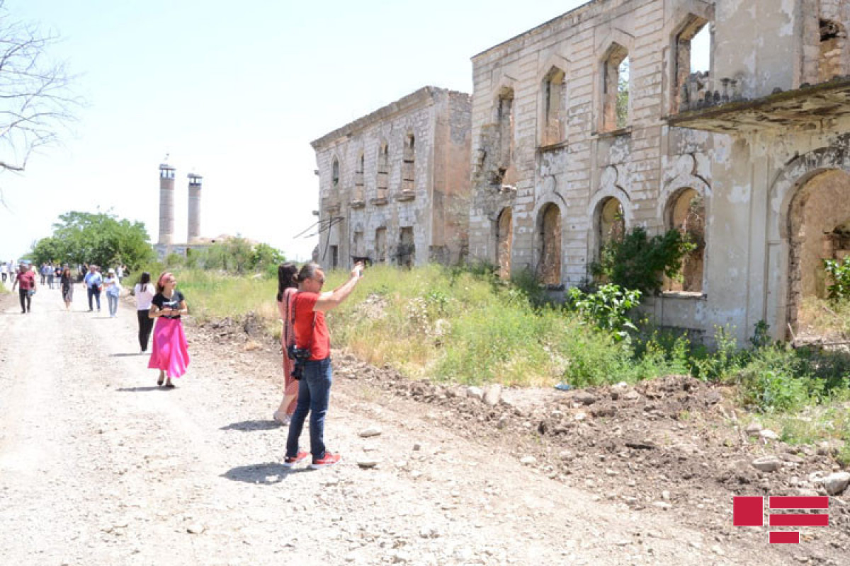 Foreign bloggers visited Azerbaijan