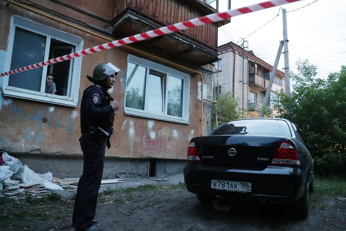 Shooting in Yekaterinburg opened by former police officer