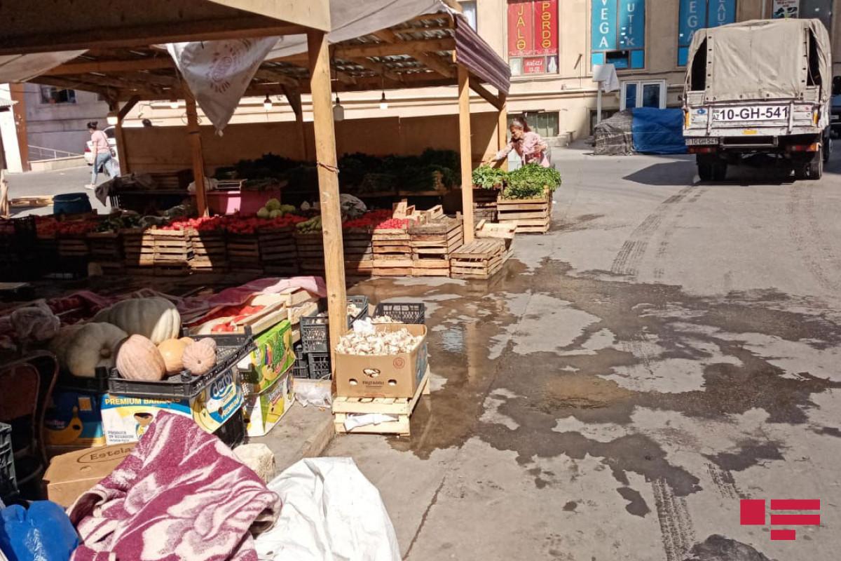 На хырдаланском рынке произошло убийство