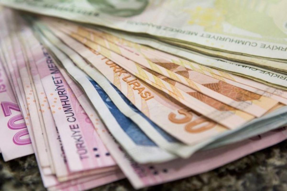 Курс турецкой лиры впервые опустился ниже 0,2 маната