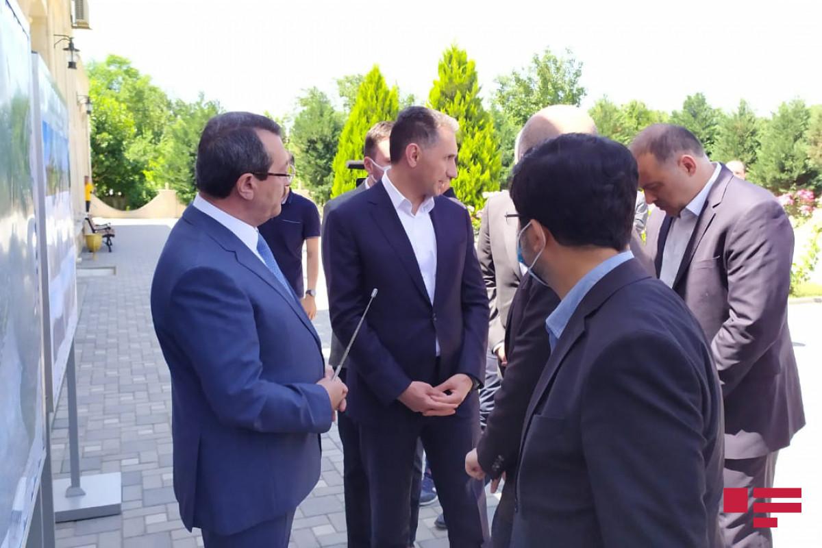 Adil Karaismailoğlu və Rəşad Nəbiyevin Füzuliyə səfəri