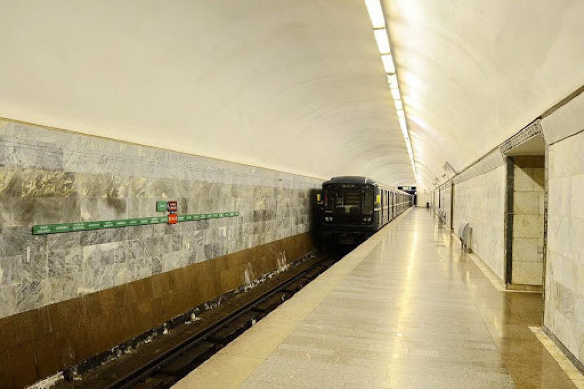 """""""Cəfər Cabbarlı"""" metro stansiyasında aparılan təmir işləri yekunlaşmaq üzrədir"""