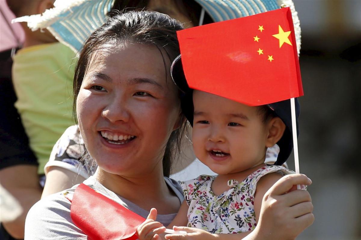 Çin uşaq siyasətini dəyişdirib, ailələr 3 uşağa sahib ola biləcək