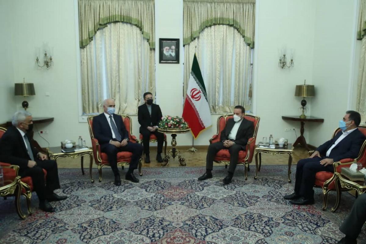 Mahmoud Vaezi meets with Shahin Mustafayev