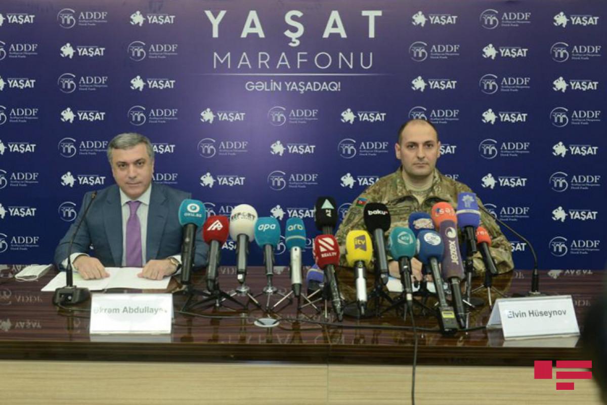 Обнародован объем средств, собранных в рамках марафона «YAŞAT»