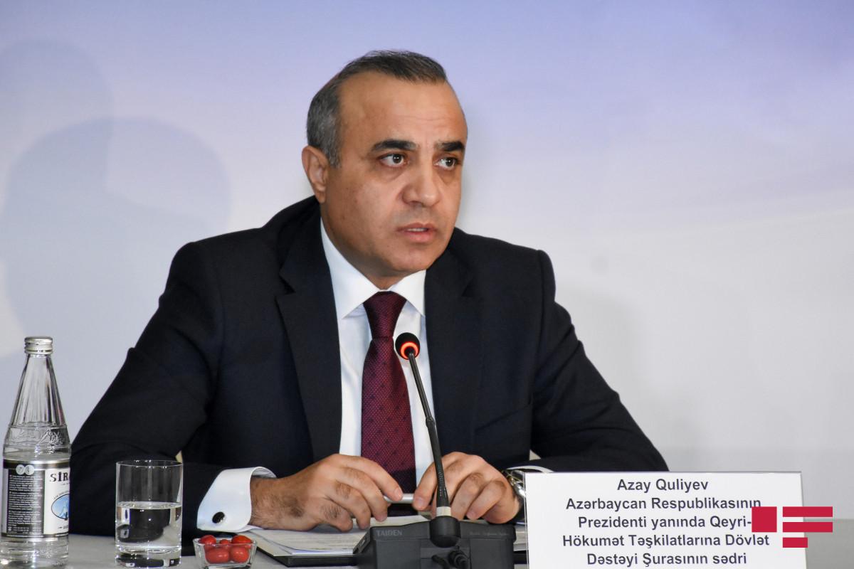 """Azay Quliyev: """"Prezident Ağdamda beynəlxalq ictimaiyyətə quruculuq və barış mesajları verdi"""""""