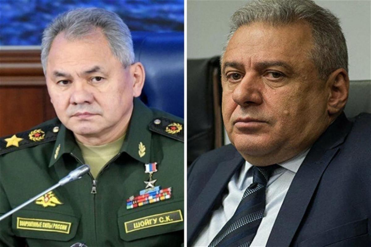 Состоялся очередной телефонный разговор между министрами обороны России и Армении