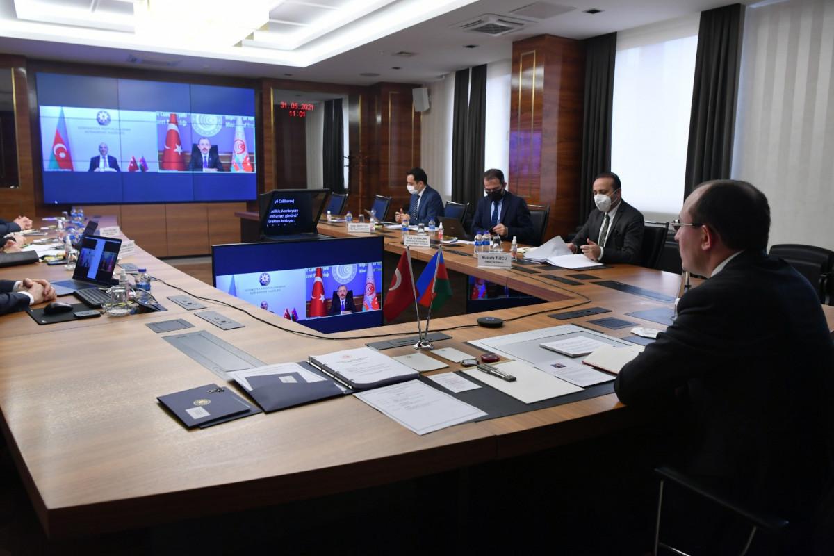 """Türkiyə-Azərbaycan investisiya forumu keçirilib - <span class=""""red_color"""">FOTO"""