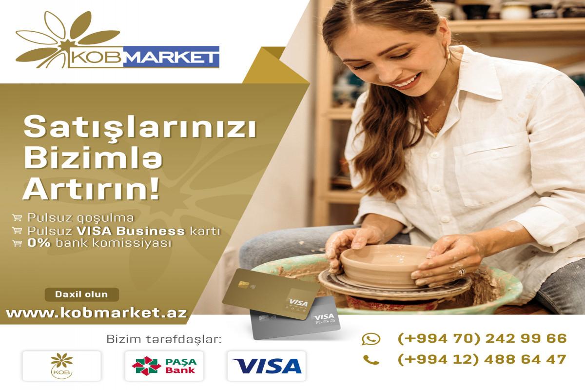Kobmarket.az - Azərbaycan elektron ticarətində yeni söz