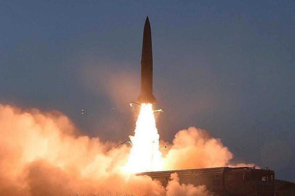 Şimali Koreya yeni raketini sınaqdan keçirib