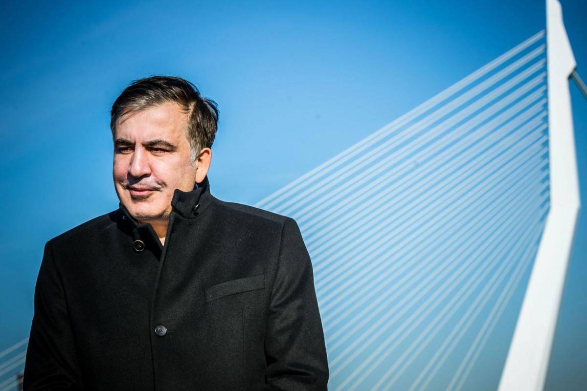 Gürcüstan DİN Saakaşvilinin Ukraynanı tərk etmədiyini bildirib